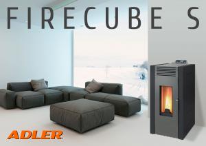 Adler Firecube S pelletkachel: de stille goedkope pelletkachel van hoge kwaliteit met de lage prijs