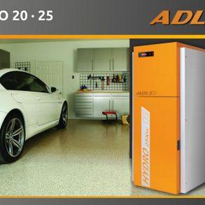 Adler Hydro pelletketel – €2500 subsidie!